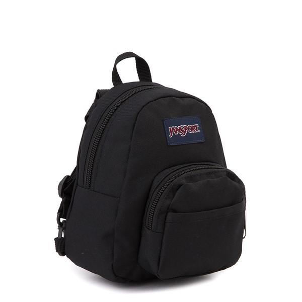 alternate view JanSport Quarter Pint Mini Backpack - BlackALT4B