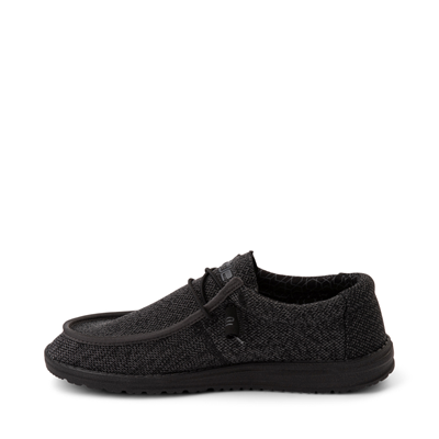Alternate view of Mens Hey Dude Wally Sox Casual Shoe - Black