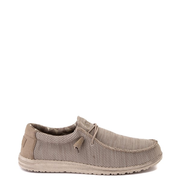 Mens Hey Dude Wally Sox Casual Shoe - Beige