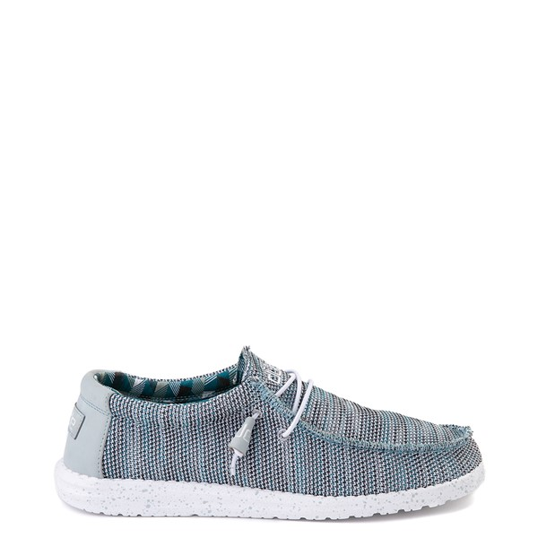 Mens Hey Dude Wally Sox Casual Shoe - Ice Gray