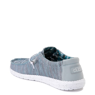 Alternate view of Mens Hey Dude Wally Sox Casual Shoe - Ice Gray