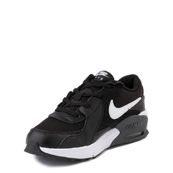 alternate view Nike Air Max Excee Athletic Shoe - Little Kid - BlackALT3