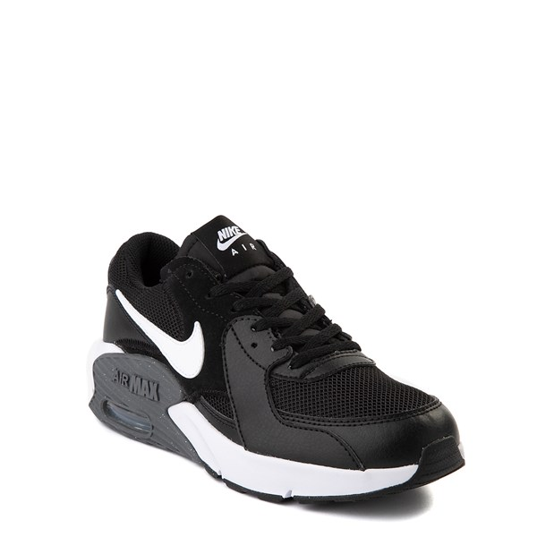 alternate view Nike Air Max Excee Athletic Shoe - Big Kid - Black / WhiteALT1