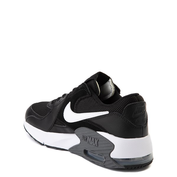 alternate view Nike Air Max Excee Athletic Shoe - Big Kid - Black / WhiteALT2