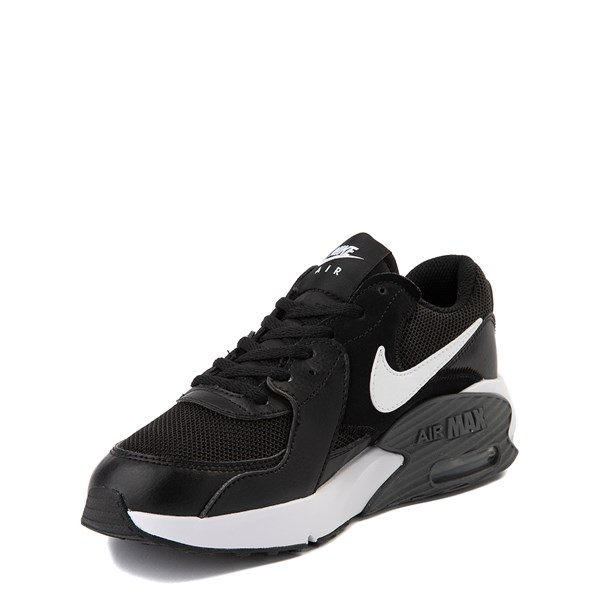 alternate view Nike Air Max Excee Athletic Shoe - Big Kid - Black / WhiteALT3