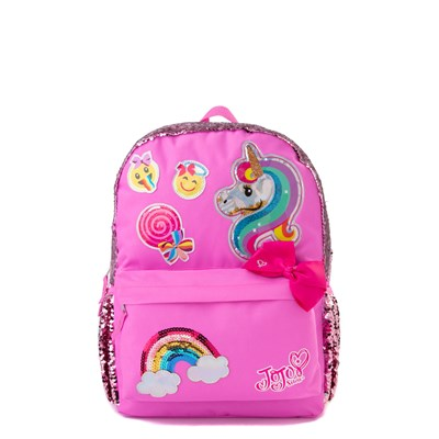 Main view of JoJo Siwa™ Sequin Backpack - Pink