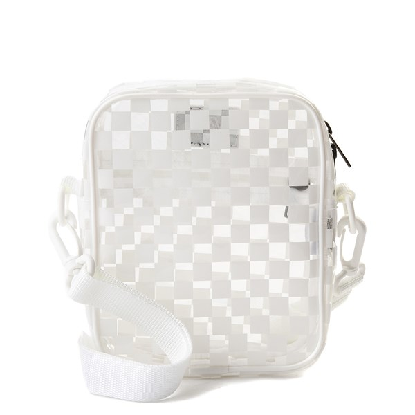 alternate view Vans Street Ready Crossbody Bag - Clear / WhiteALT1