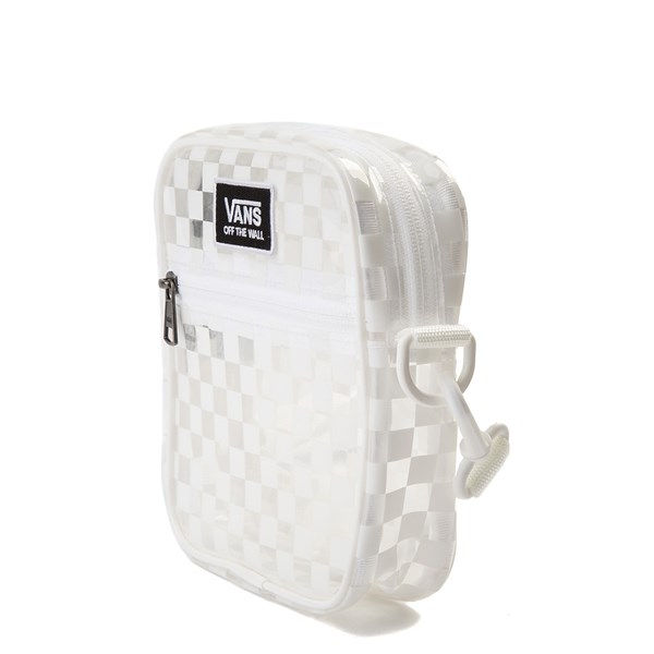 alternate view Vans Street Ready Crossbody Bag - Clear / WhiteALT2