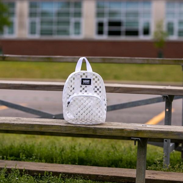 alternate view Vans Gettin' It Mini Backpack - Clear / WhiteALT1BB