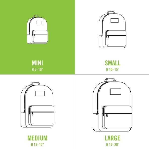alternate view Vans Gettin' It Mini Backpack - Clear / WhiteALT1C