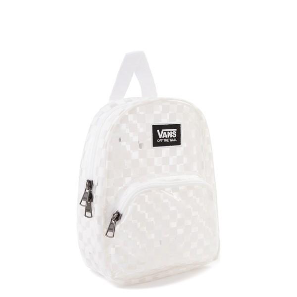 alternate view Vans Gettin' It Mini Backpack - Clear / WhiteALT4B