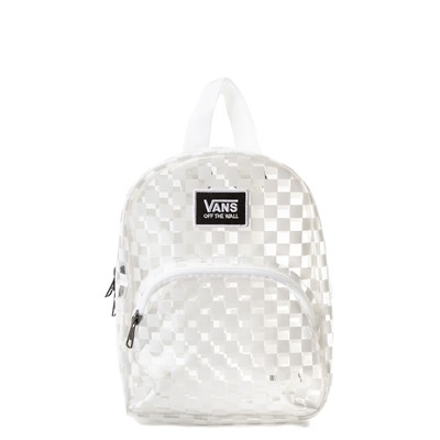 Main view of Vans Gettin' It Mini Backpack - Clear / White
