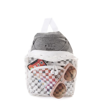 Alternate view of Vans Gettin' It Mini Backpack - Clear / White
