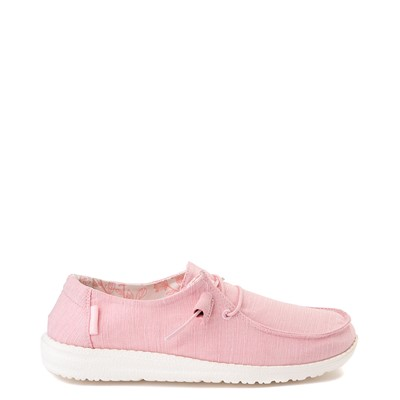 Main view of Womens Hey Dude Wendy Slip On Casual Shoe - Pink