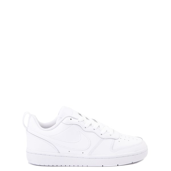 Nike Court Borough 2 Low Atheltic Shoe - Big Kid - White Monochrome