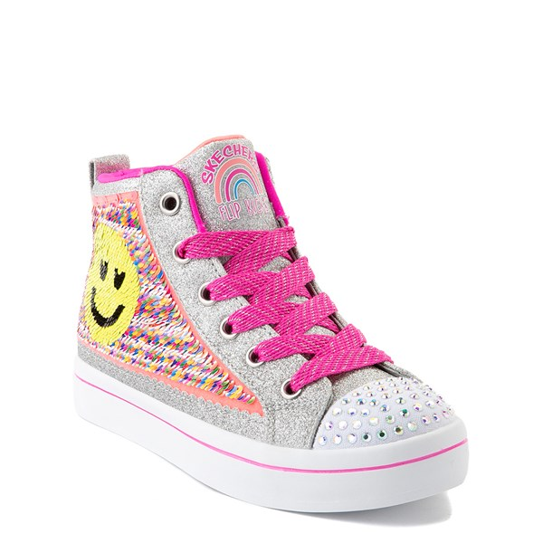 alternate view Skechers Flip-Kicks™ Happy Face Sneaker - Little KidALT1B