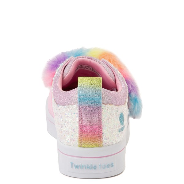 alternate view Skechers Twinkle Toes Twi-Lites Ooh La Fur Sneaker - Little KidALT7