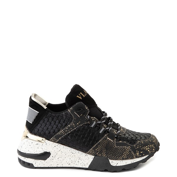 Main view of Womens Vlado Cleo Athletic Shoe - Black / Gold