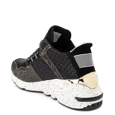 Alternate view of Womens Vlado Cleo Athletic Shoe - Black / Gold