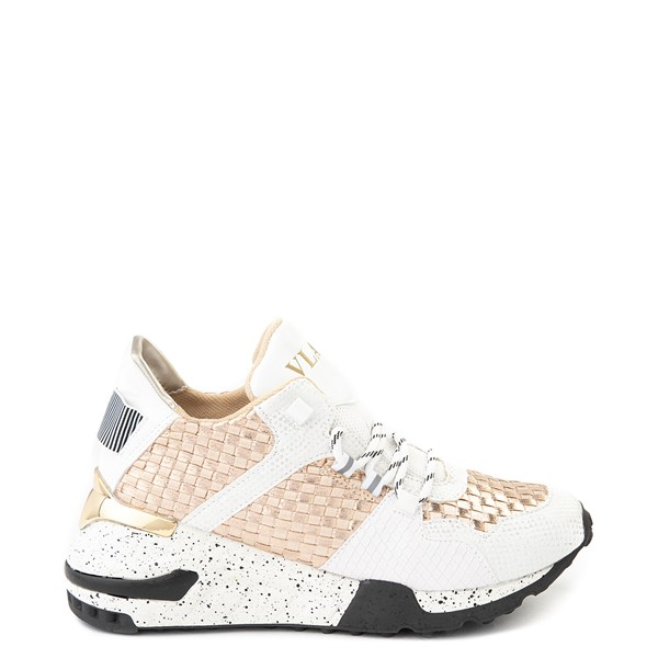 Main view of Womens Vlado Cleo Athletic Shoe - White / Gold