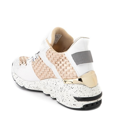 Alternate view of Womens Vlado Cleo Athletic Shoe - White / Gold
