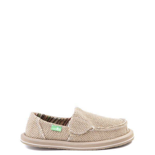 Main view of Sanuk Vagabond Casual Shoe - Toddler / Little Kid - Khaki