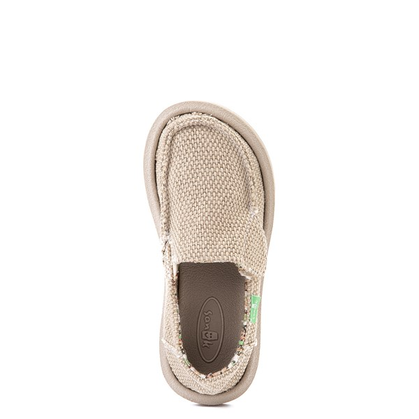 alternate view Sanuk Vagabond Casual Shoe - Toddler / Little Kid - KhakiALT4B
