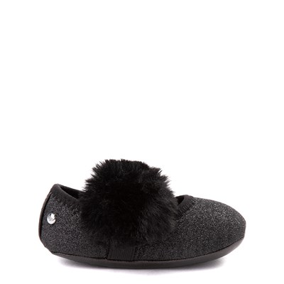 Main view of UGG® Fluff Ballet Flat - Baby / Toddler - Black