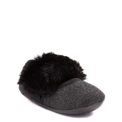 Alternate view of UGG® Fluff Ballet Flat - Baby / Toddler - Black