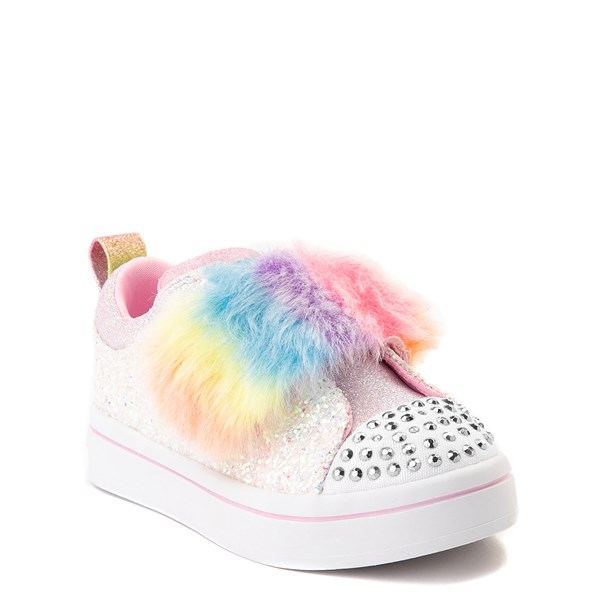alternate view Skechers Twinkle Toes Twi-Lites Ooh La Fur Sneaker - ToddlerALT1B