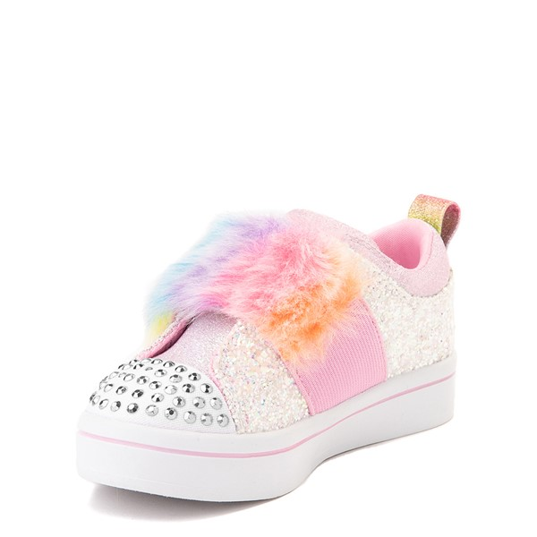 alternate view Skechers Twinkle Toes Twi-Lites Ooh La Fur Sneaker - ToddlerALT2