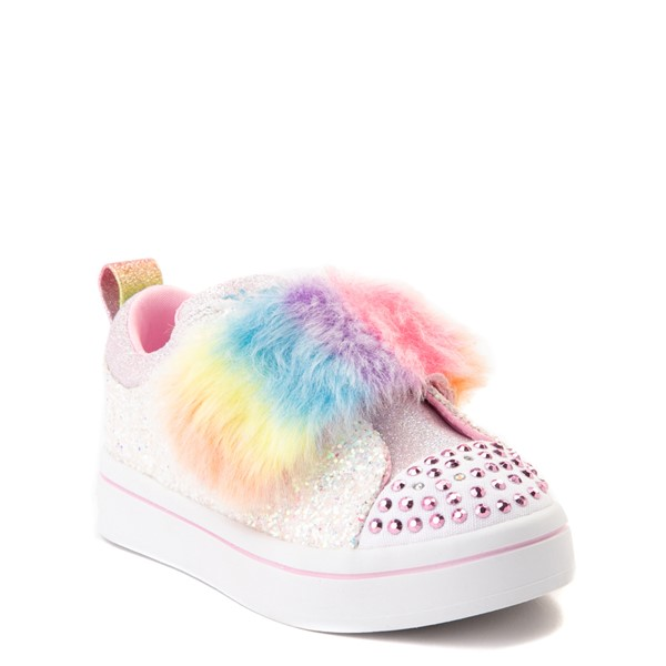alternate view Skechers Twinkle Toes Twi-Lites Ooh La Fur Sneaker - ToddlerALT5