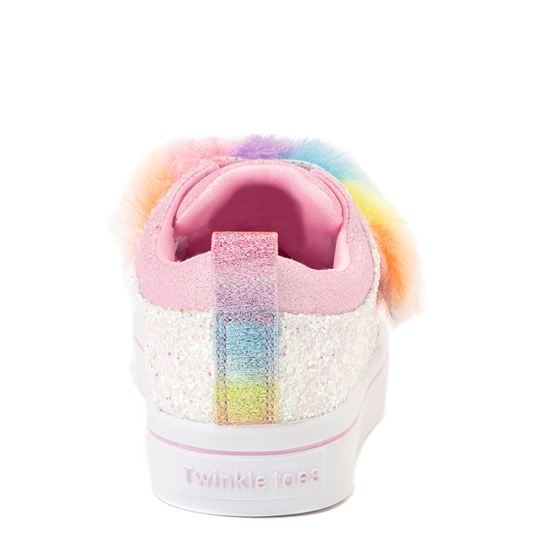 alternate view Skechers Twinkle Toes Twi-Lites Ooh La Fur Sneaker - ToddlerALT6