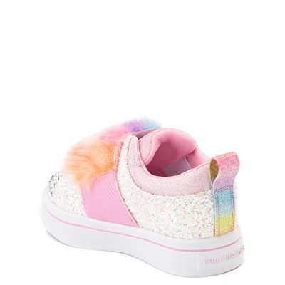 Alternate view of Skechers Twinkle Toes Twi-Lites Ooh La Fur Sneaker - Toddler
