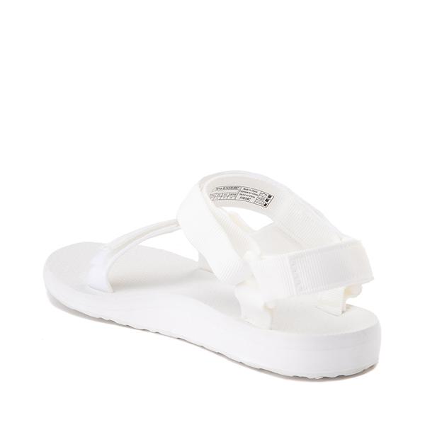 alternate view Womens Teva Original Universal Sandal - White MonochromeALT1