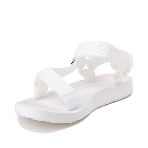 alternate view Womens Teva Original Universal Sandal - White MonochromeALT2