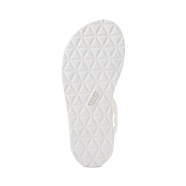 alternate view Womens Teva Original Universal Sandal - White MonochromeALT3