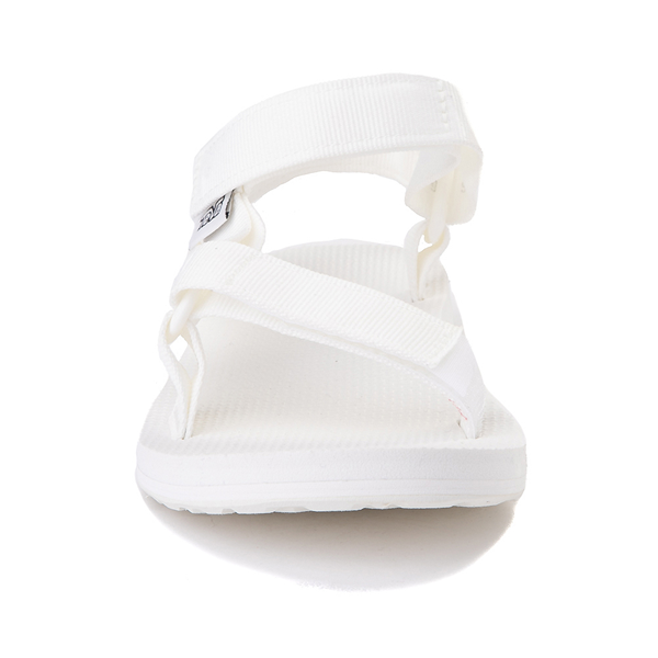 alternate view Womens Teva Original Universal Sandal - White MonochromeALT4