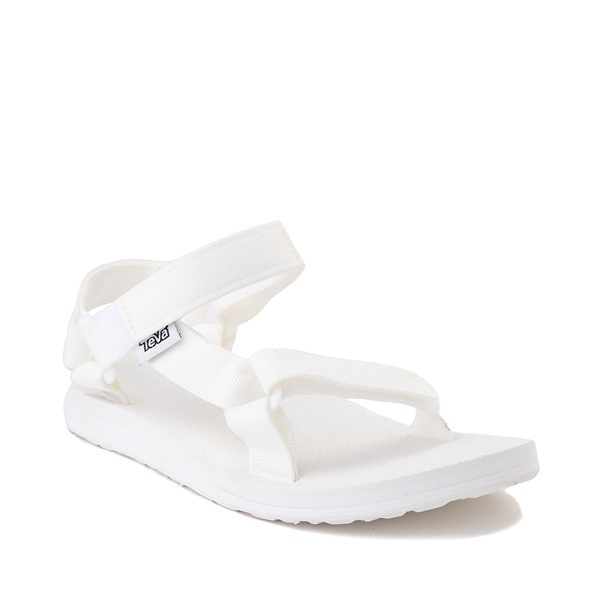 alternate view Womens Teva Original Universal Sandal - White MonochromeALT5