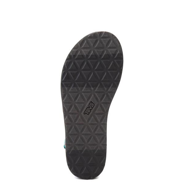 alternate view Womens Teva Flatform Universal Sandal - TealALT5