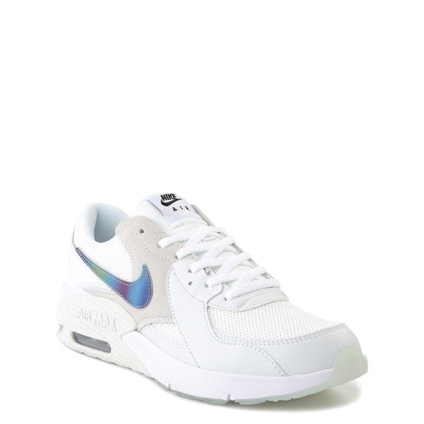alternate view Nike Air Max Excee Athletic Shoe - Big Kid - White / PlatinumALT1