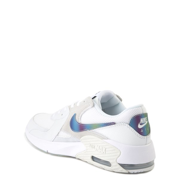alternate view Nike Air Max Excee Athletic Shoe - Big Kid - White / PlatinumALT2