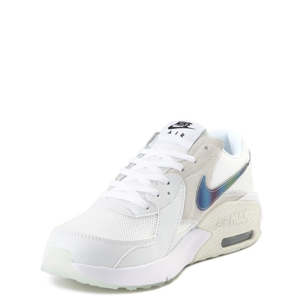 alternate view Nike Air Max Excee Athletic Shoe - Big Kid - White / PlatinumALT3