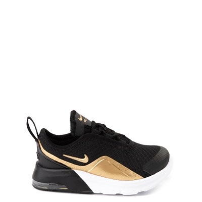 Main view of Nike Air Max Motion 2 Athletic Shoe - Toddler - Black / Gold / White