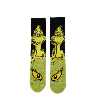 Main view of Mens Stance The Grinch Crew Socks