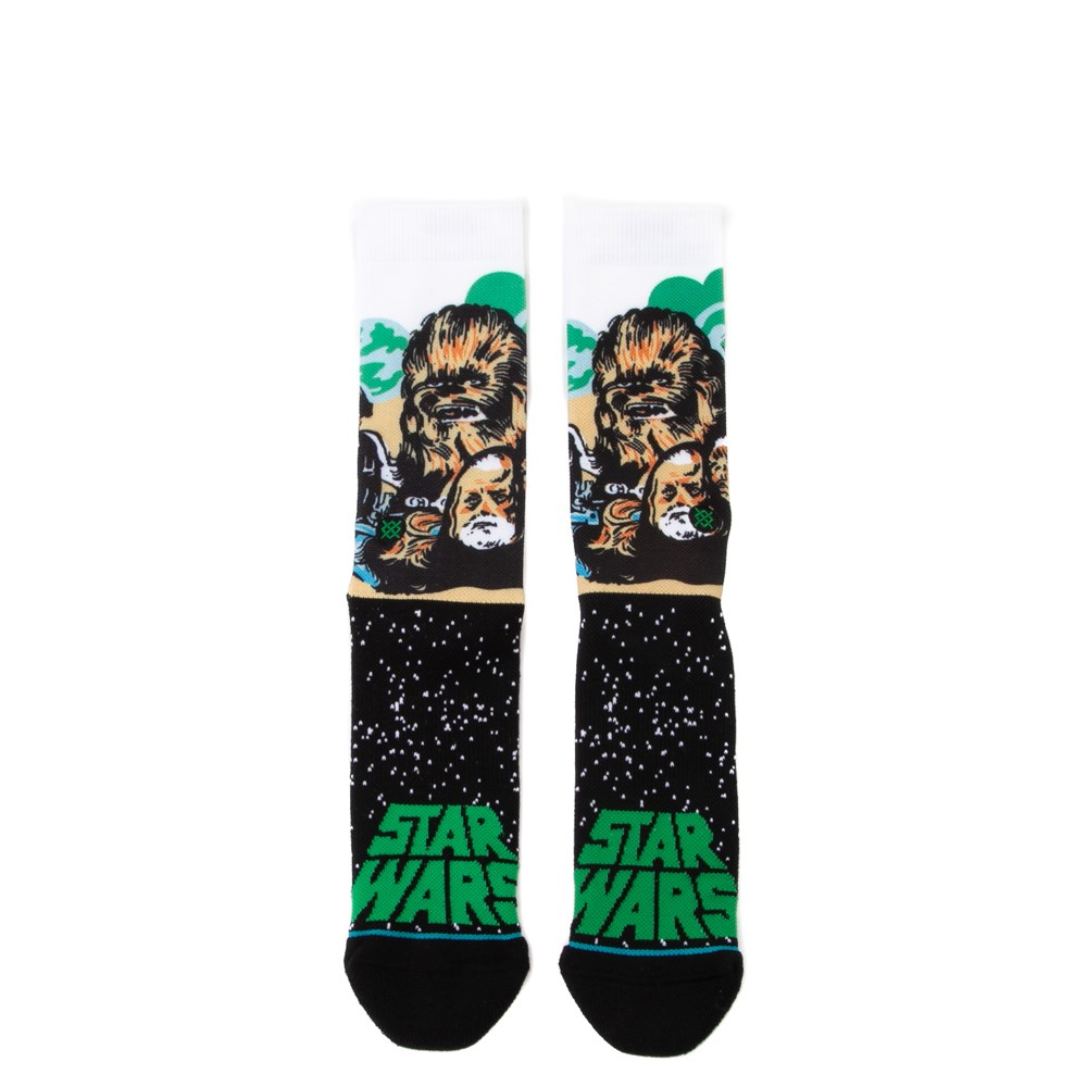 Mens Stance Star Wars Chewbacca Crew Socks