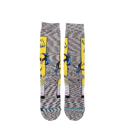 Alternate view of Mens Stance Wolverine Comic Crew Socks - Multi