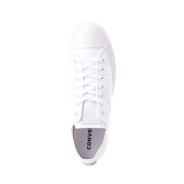 alternate view Converse Chuck Taylor All Star Lo Monochrome Sneaker - WhiteALT2