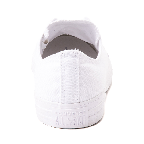 alternate view Converse Chuck Taylor All Star Lo Monochrome Sneaker - WhiteALT4