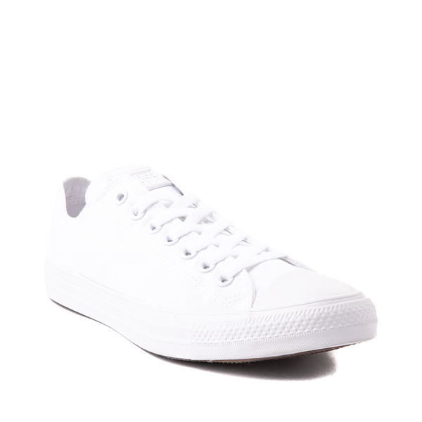 alternate view Converse Chuck Taylor All Star Lo Monochrome Sneaker - WhiteALT5